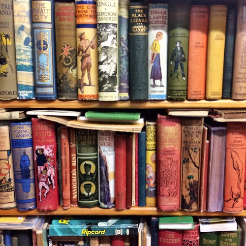 At Cracked & Spineless New & Used Books | by miaow