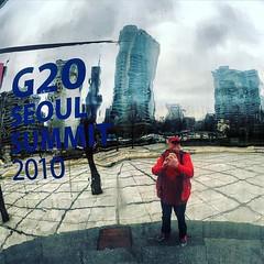 #g20summit #seoul #korea #fitzaroundtheworld #mırrorball