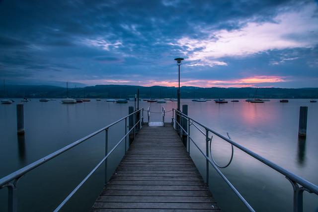 Sunset Greifensee