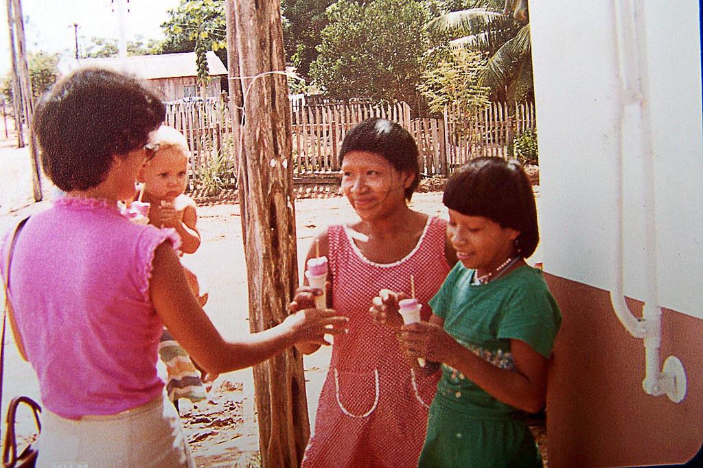 O sorriso das Índias de Rondônia