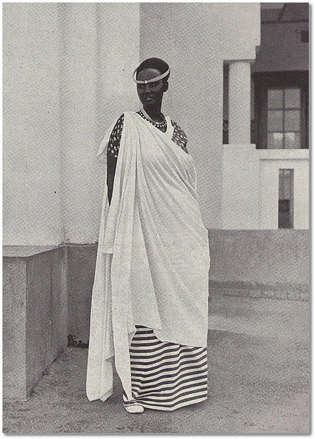 Emma Bakayishonga fille du mwami Yuhi Musinga et soeur du mwami Mutara III Rudahigwa