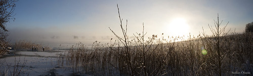 sunset sky snow tree ice nature water vegetables fog canon landscape outdoors sweden wildlife adventure