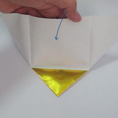 วิธีพับกระดาษเป็นรูปหัวใจติดปีก (Heart Wing Origami) 010