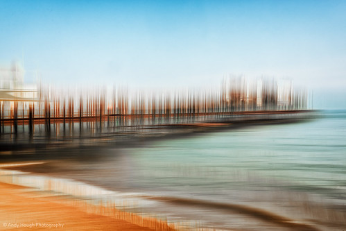 blue sea england sky beach andy pier seaside sony multipleexposure hastings seafront icm hough a77 andyhough intentionalcameramovement slta77 andyhoughphotography