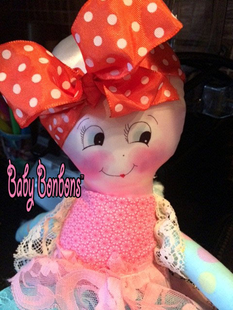 Adorable Catie Cuddles Chemotherapy doll, by Bee Brave Buddies