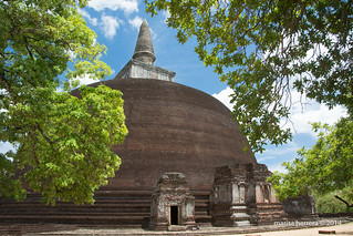 Sri Lanka. Polonnaruwa. Rankot Vihara.
