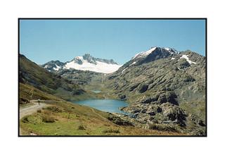 Les 3 lacs & glacier de l'Etandard