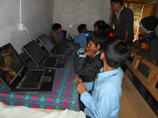 Bani Bilas Computer Donation from GBW Gruppe, Munich | by Parahamsa