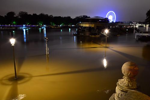 Crue de la Seine 2016 - Paris, berges rives gauche   by EclairagePublic.eu