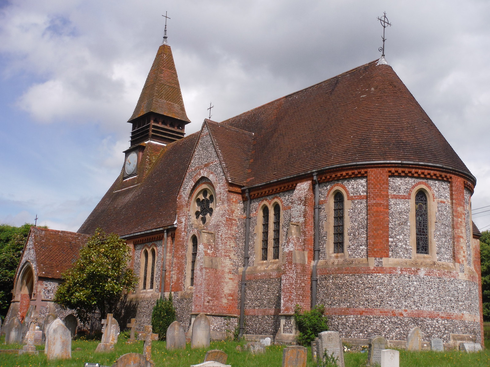 St. Mary the Virgin, West Dean SWC Walk 265 - Dean to Mottisfont & Dunbridge