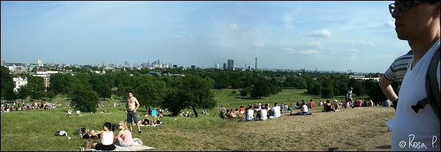 Primrose Hill - panoramic