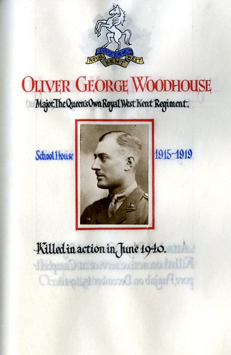 Woodhouse, Oliver George (1901-1940) | by sherborneschoolarchives