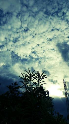 sky silhouette clouds day shadows blues antipolo gc100 flickrandroidapp:filter=none smhypermarketantipolo