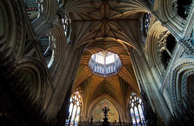 Ely Cathedral ceiling UK