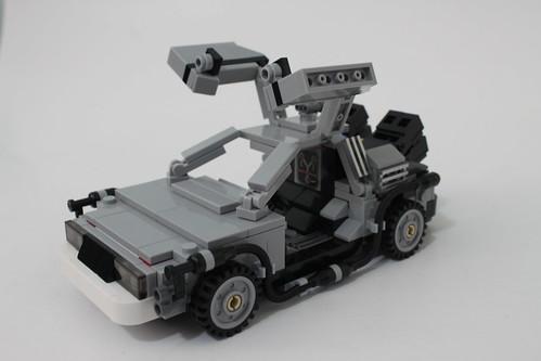LEGO CUUSOO Back to the Future DeLorean Time Machine (21103) | by tormentalous