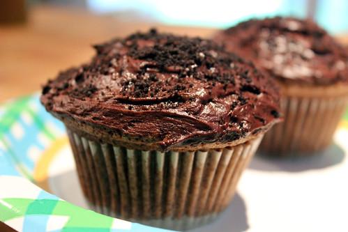 chocolate oreo cupcake   by TALMADGEBOYD