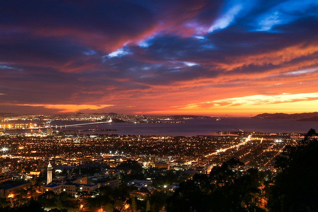 Berkeley Sunset [Explore 10/07/13]