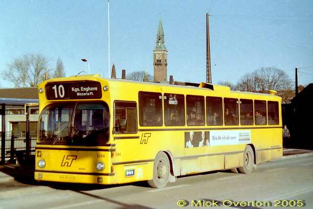 1979 Volvo B10R HT1244 HB95609 route 10 Jan 1997