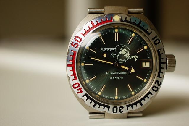 "Vostok Amphibia ""Scuba Dude"" automatic"