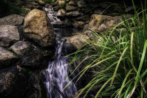 water landscape waterfall rocks