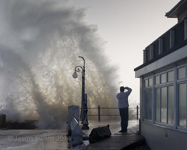 Big seas at Freshwater Bay - IMG_0584