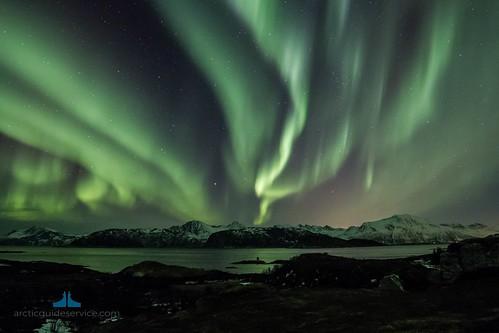 Noorwegen, Tromsø - noorderlicht