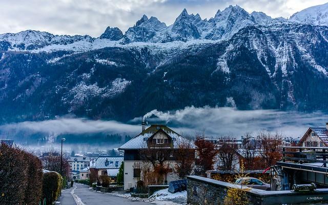 Chamonix-Mont-Blanc, French Alps