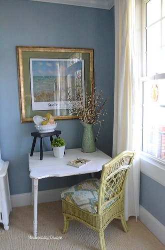 Guest Room Writing Area-Housepitality Designs | by shirleystankus