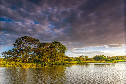 water clouds lakes parks cloudsstormssunsetssunrises