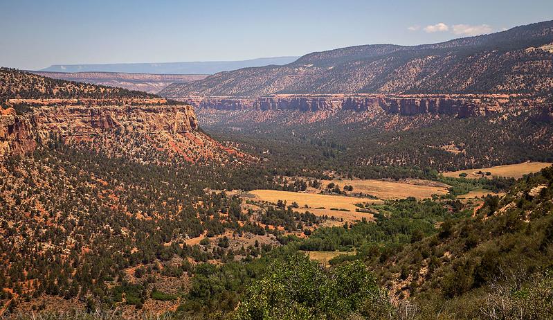 Smoky Escalante Canyon