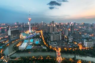 Chengdu TV Tower by plej_photo - 乐让菲力