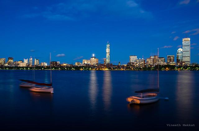 Boston at Sunset