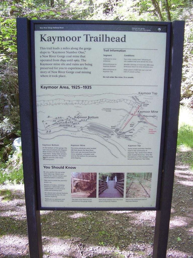 Kaymoor abandoned Coal Mine Walk : New River Gorge National River : 2007