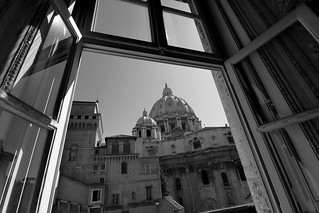 St. Peter's from Vatican Museums
