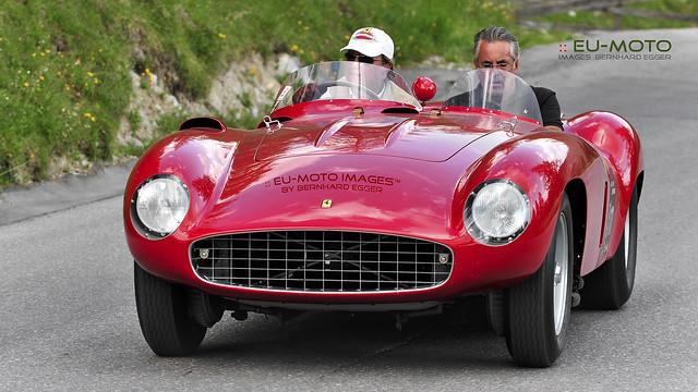 Ferrari 121 LM 1955 # 0558LM (1 of 4) Andrea Rastrelli (IT) Racecar-Trophy (c) 2013 Берни Эггерян :: rumoto images 6002