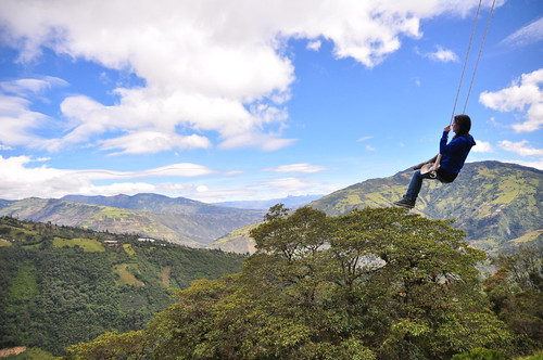 Swing at the End of the World, Baños, Ecuador | by Rinaldo Wurglitsch