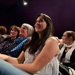 A happy audience |