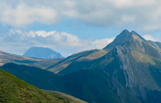 Ubiña la Grande y la Sierra de los Bígaros