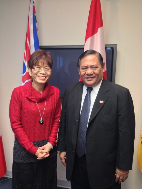 Meeting with the Ambassador of the Philippines to Canada
