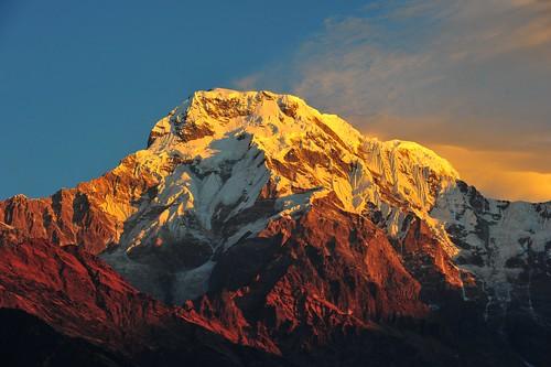 The Burning Dhaulagiri | by cnneil