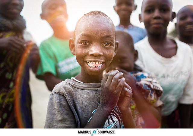 kids in Tansania