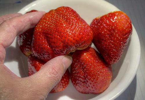 california red raw strawberries fav30 hdr 3xp photomatix nex6