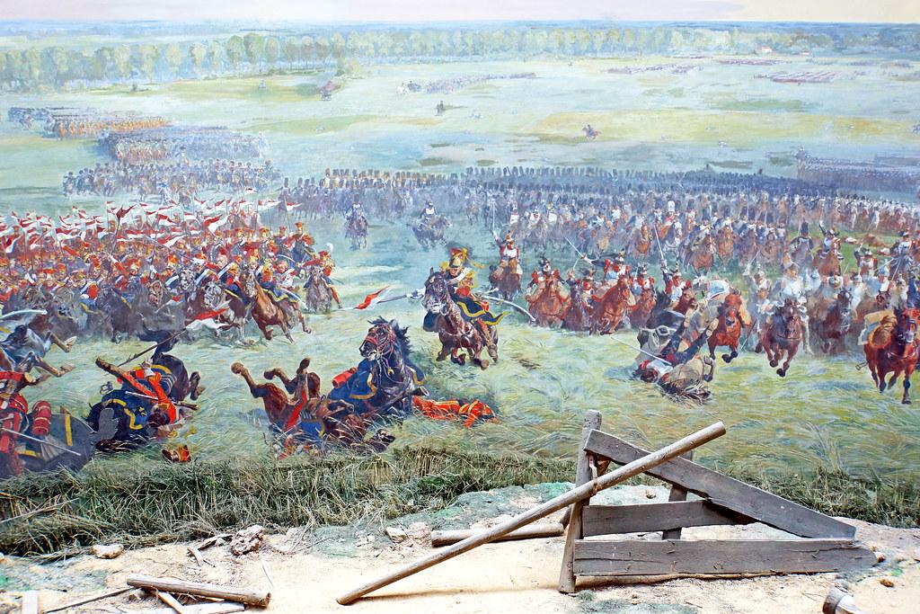 Belgium-6747 - Battle Scene