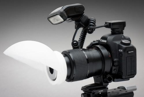 DIY Lamp shade macro diffuser | by johnhallmen
