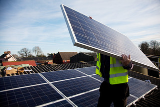 Solar Panels on Grange farm | by 1010 Climate Action
