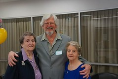 Started at Gawler Primary School in 1936. Beth Robin (nee Bywaters), David Kranz, Mary Hatcher (nee Hewett)