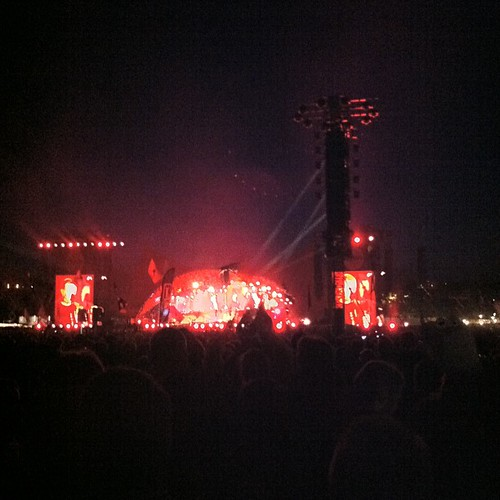 Metallica in the dark #orangefeeling #rf13 #whataparty #master | by Simon Fredslund