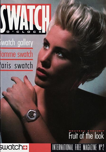 swatch magazine 1985 page 1