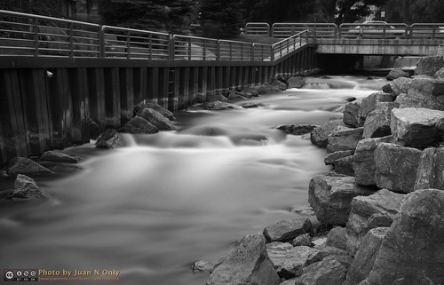 longexposure blackandwhite water monochrome river landscape blackwhite waterfall rocks outdoor michigan september grayscale petoskey bearriver neutraldensity 2013 criticismwelcome od45 juannonly nd32768