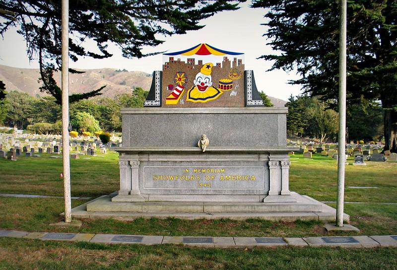 Memorial for Circus Showfolks of America